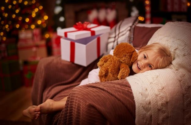 Pluizige teddybeer was mijn grootste wens