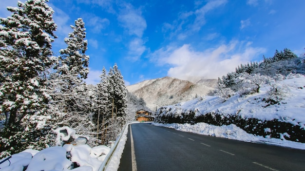 Polaire alpine prefectuur vakantiebestemmingen zon
