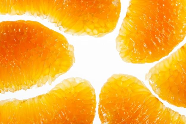 Pomelo fruit macro