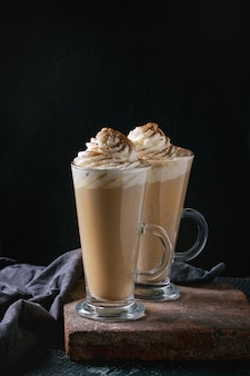 Pompoen pittige latte