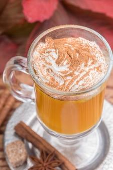 Pompoen spice latte smoothie
