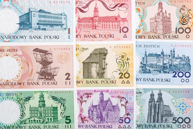 Pools geld - de poolse steden-serie, een achtergrond