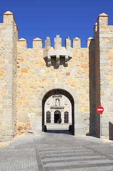 Poort van avila, spanje (puerta de la santa)