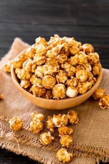 Popcorn met karamel