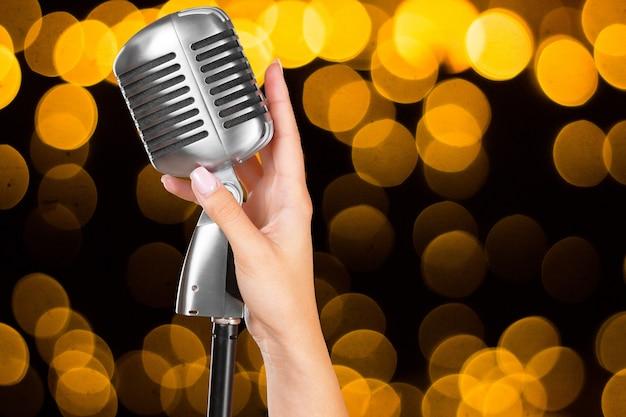 Populaire zanger