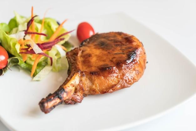 Pork chop steak