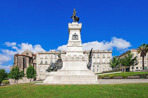 Porto, portugal - juli 02: het palacio da bolsa (beurspaleis) is een historisch gebouw op 2 juli 2014 in porto, portugal