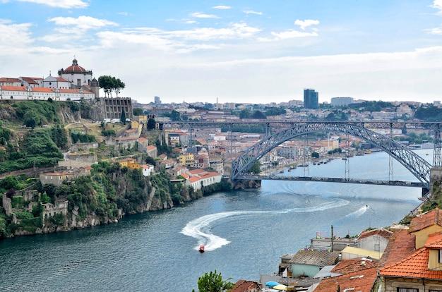 Porto uitzicht van bovenaf