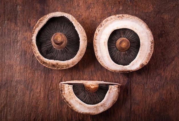 Portobello champignons