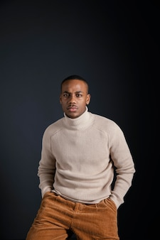 Portret jonge afrikaanse man