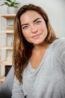 Portret mooie vrouw