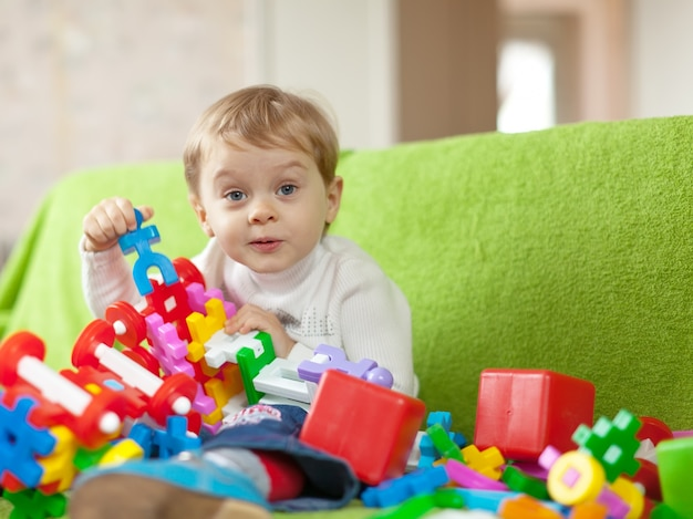 Portret van 3 jaar kind