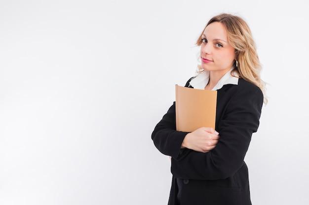 Portret van advocaatvrouw