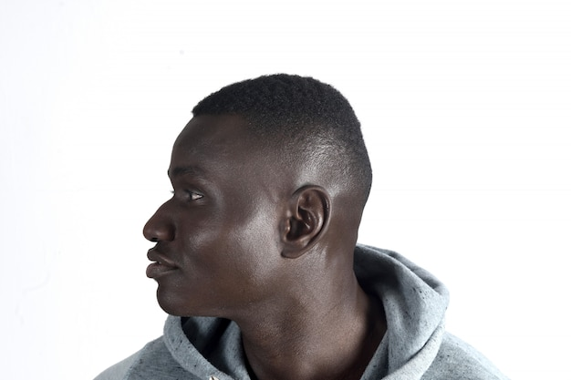 Portret van afrikaanse man