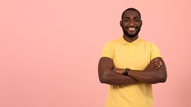 Portret van afro-amerikaans model