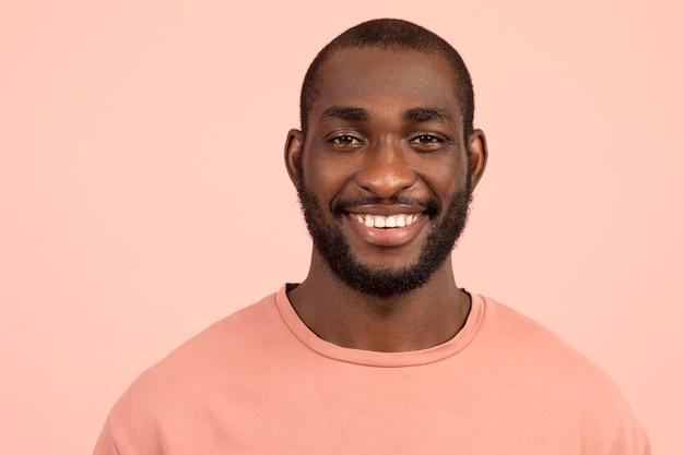 Portret van afro-amerikaanse man