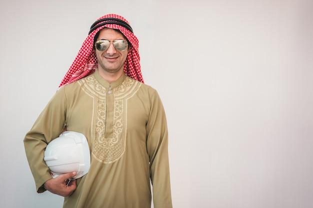 Portret van arabische architecten