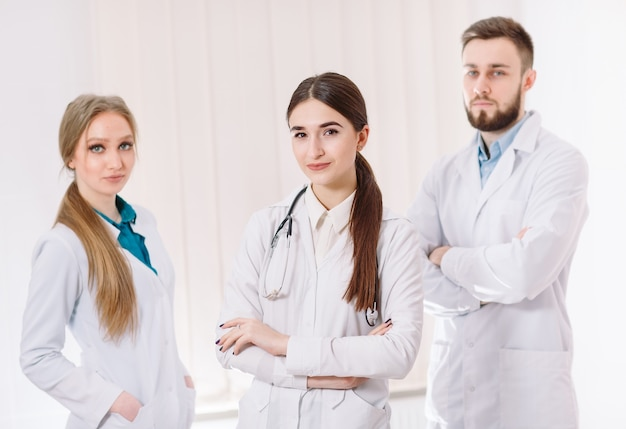 Portret van artsen.