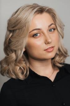 Portret van blond meisje
