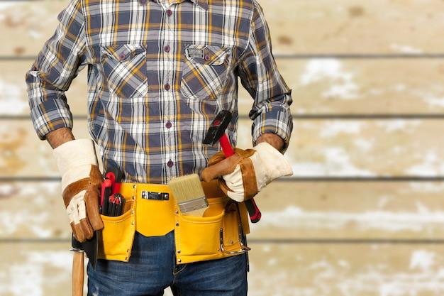 Portret van bouwvakker
