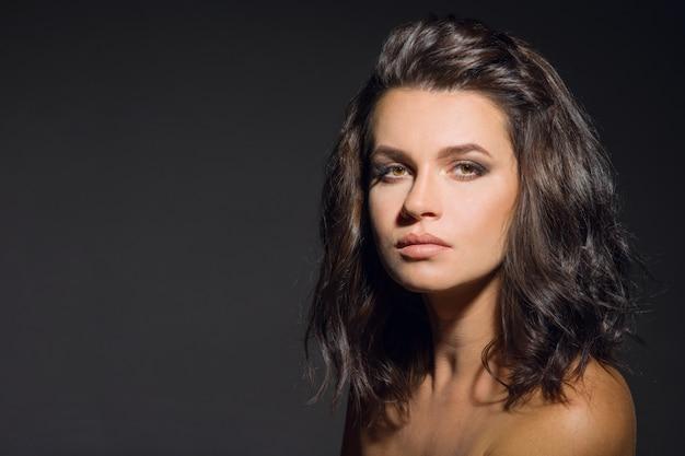 Portret van brunette meisje