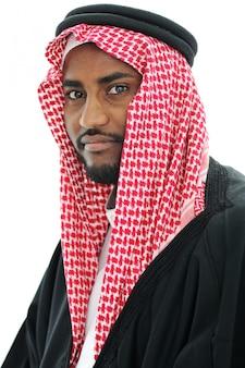 Portret van een arabische man, sheikh