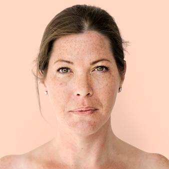 Portret van een britse vrouw