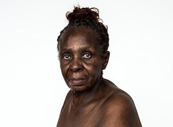 Portret van een Congolese vrouw