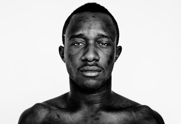 Portret van een ghanese man