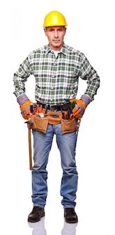 Portret van een handwerker