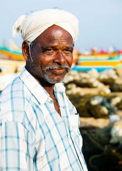 Portret van een indiase man
