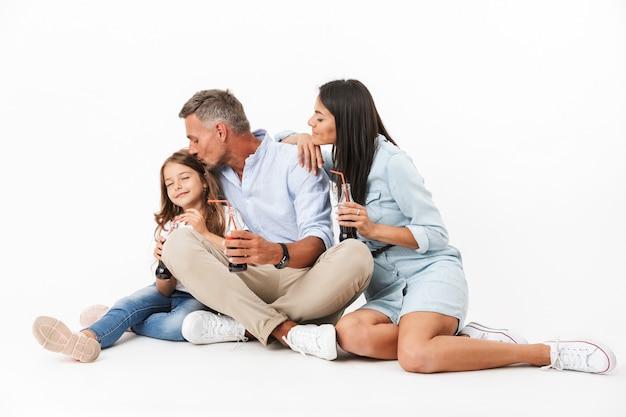 Portret van een liefdevolle familie