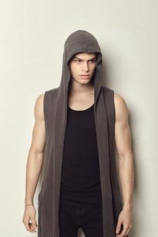 Portret van een mode-jonge man