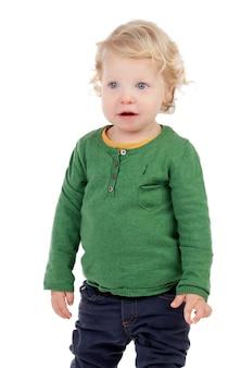 Portret van een mooie baby