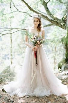 Portret van een mooie bruid