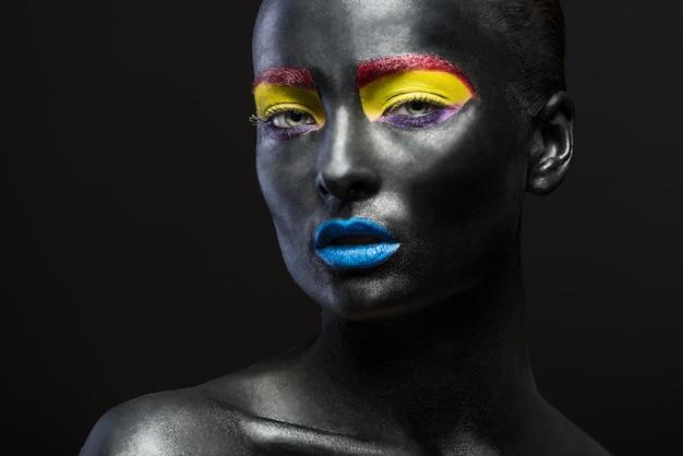 Portret van een mooie sensuele vrouw