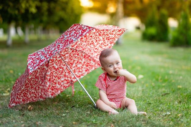 Portret van een schattig klein meisje