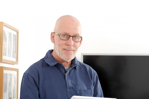 Portret van een senior man