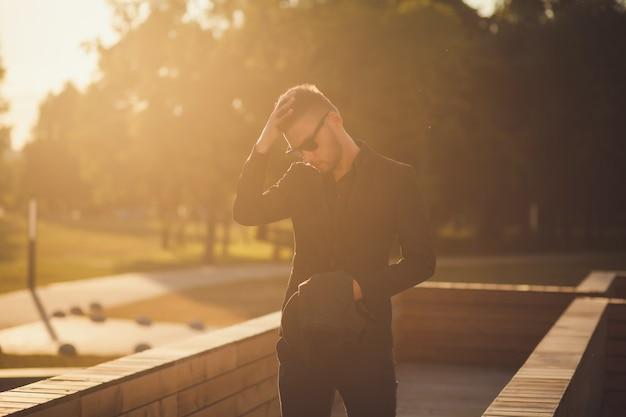 Portret van een stijlvolle man