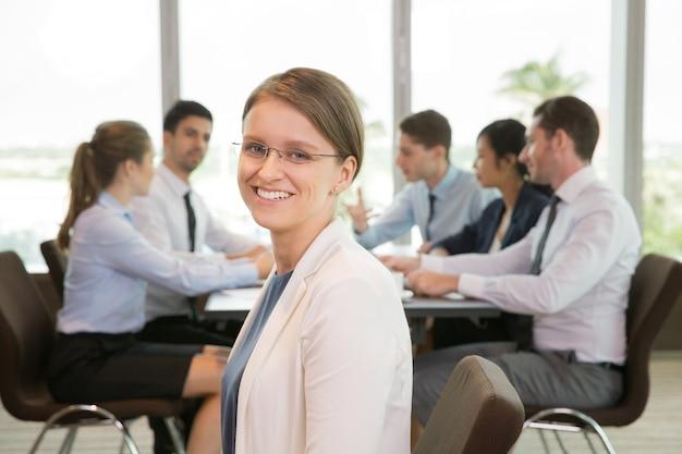 Portret van een succesvolle zakenvrouw