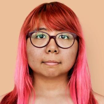 Portret van een thaise vrouw