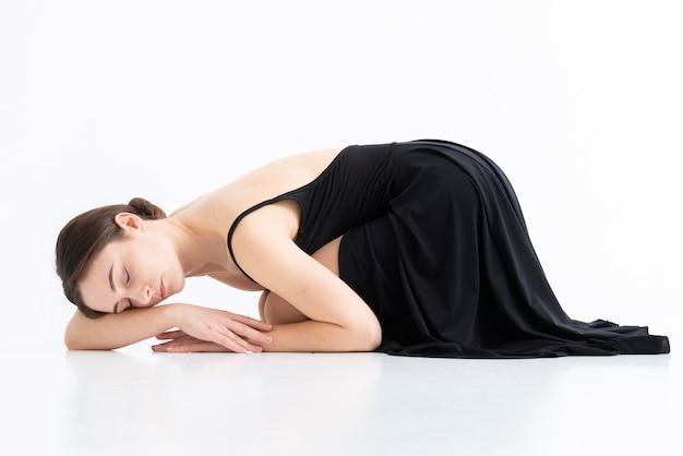 Portret van elegante professionele danser