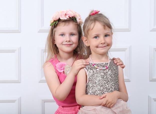 Portret van gelukkige kinderen
