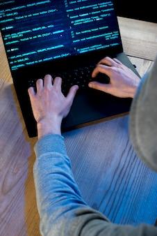 Portret van hacker