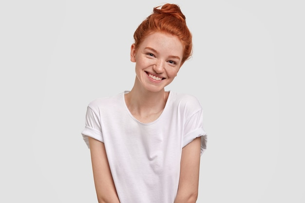 Portret van jonge gembervrouw
