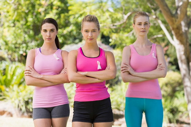 Portret van jonge vrijwilligersvrouwen status