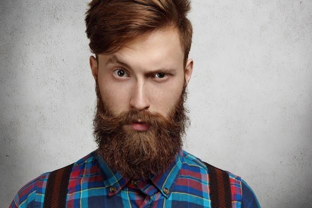 Portret van mannelijkheid.