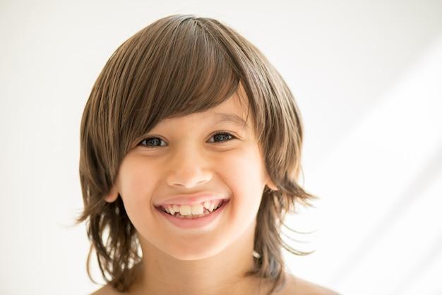 Portret van modeljongen