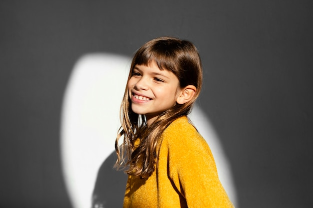 Portret van mooi meisje