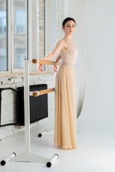 Portret van mooie balletdanser